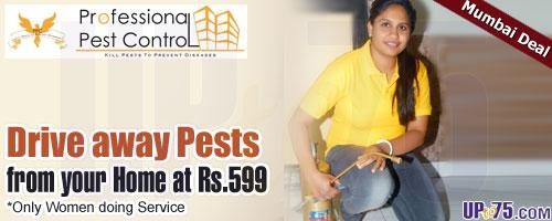 Professional Pest Control offers India