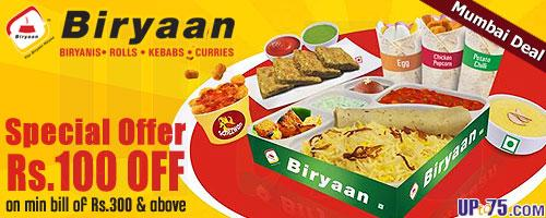Biryaan offers India