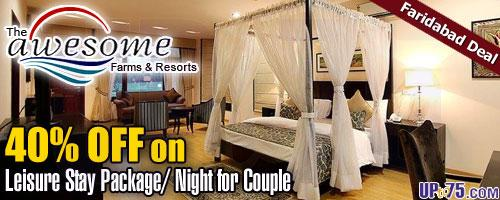 Awesome Farms and Resorts offers India