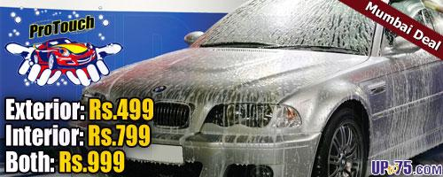 Pro Touch Car and Bike Wash offers India