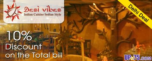 Desi Vibes - Indian Cuisine Indian Style offers India