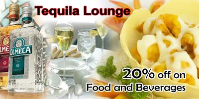 Tequila Lounge offers India