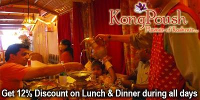 KongPoush - Kashmiri Cuisine offers India