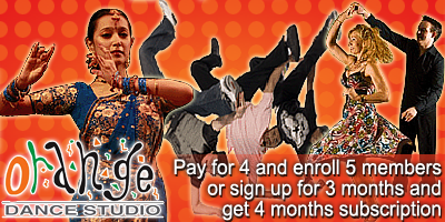 Orange Dance Studio offers India