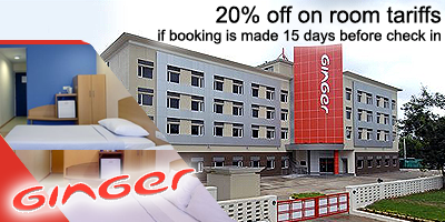 Ginger Hotels offers India
