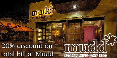 Mudd Salon and Day Spa offers India