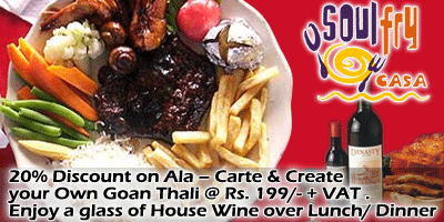Soul Fry Casa offers India