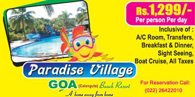 Paradise Village Beach Resort offers India