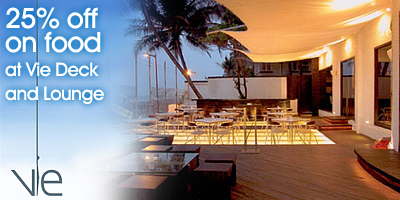 Vie Deck & Lounge offers India