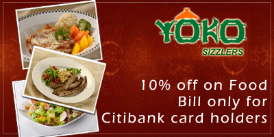 Yoko Sizzlers offers India