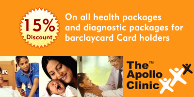 The Apollo Clinic offers India