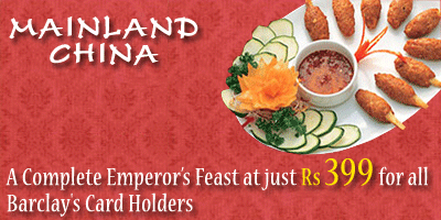 Mainland China offers India