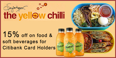 The Yellow Chilli offers India