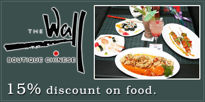 THE WALL - Boutique Chinese Restaurant offers India
