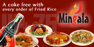 Mingala offers India