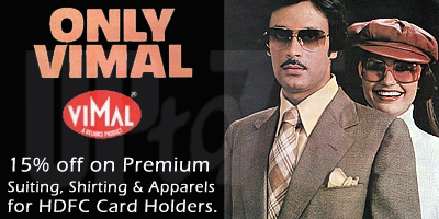 Vimal offers India