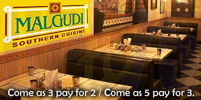 Malgudi - Southern Cuisine offers India