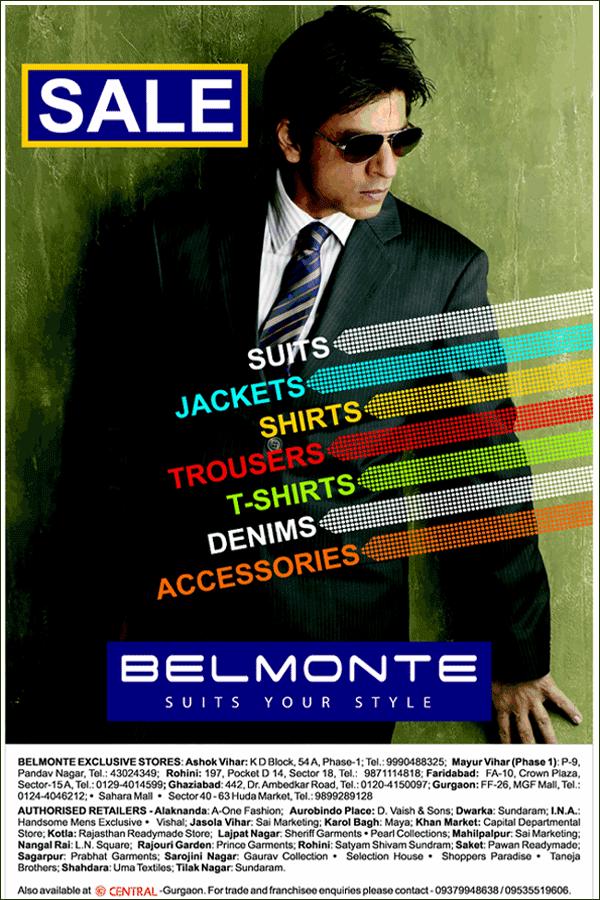 Belmonte offers India