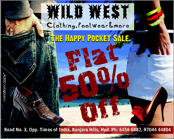 Wild West offers India