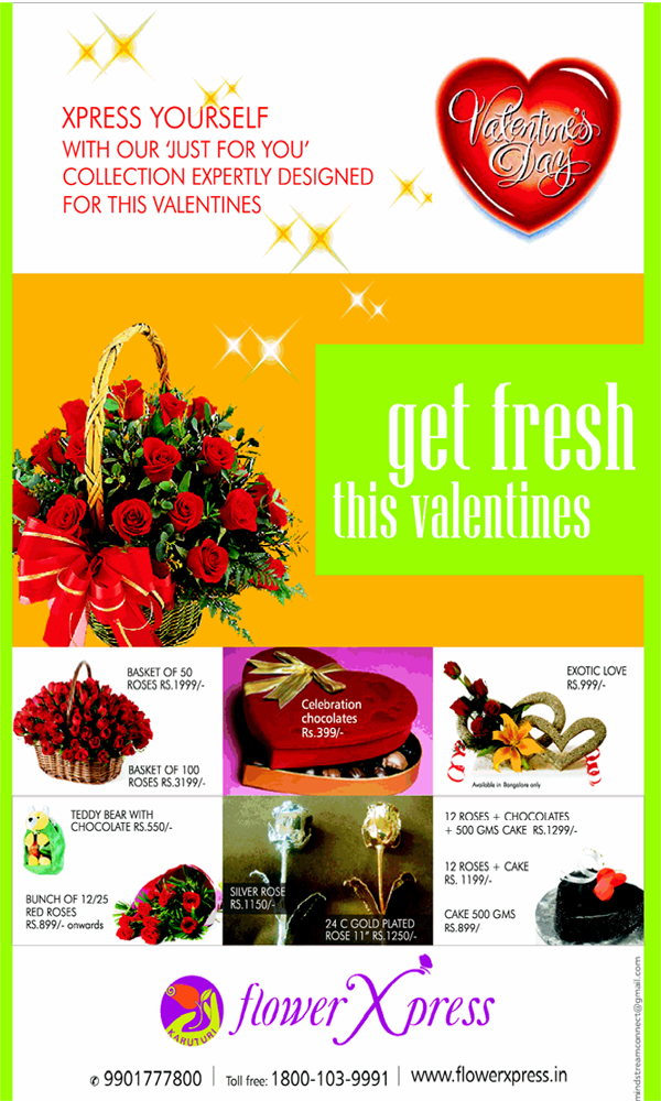 Flower Xpress offers India