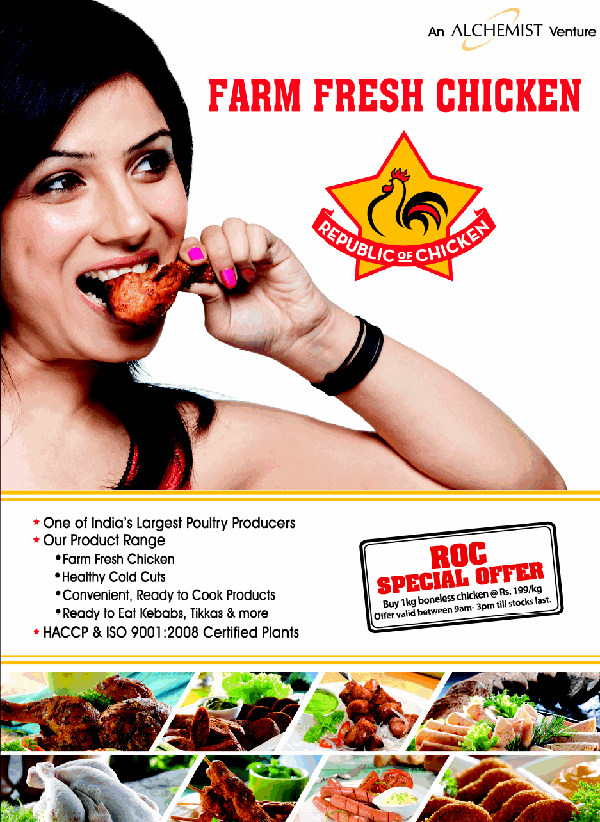 Republic of Chicken offers India