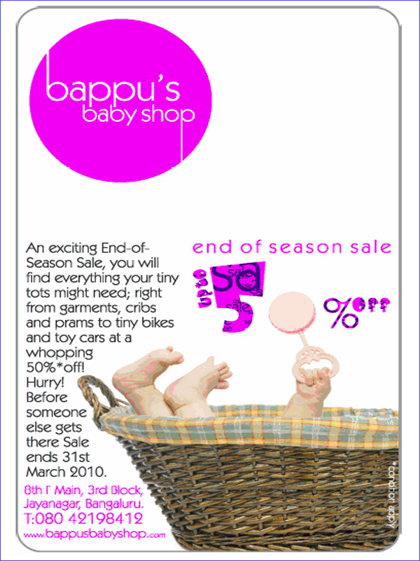 Bappus Baby Shop offers India