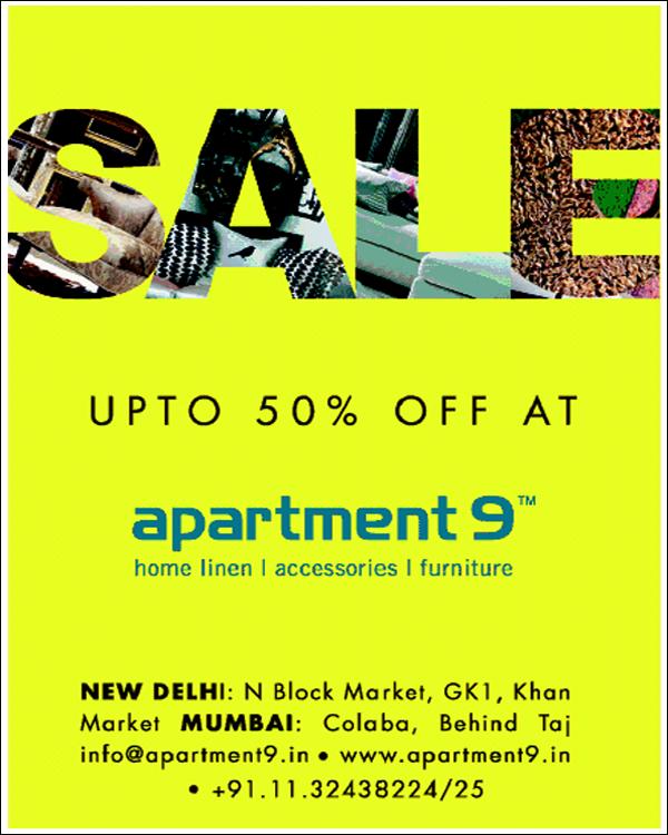 Apartment 9 offers India