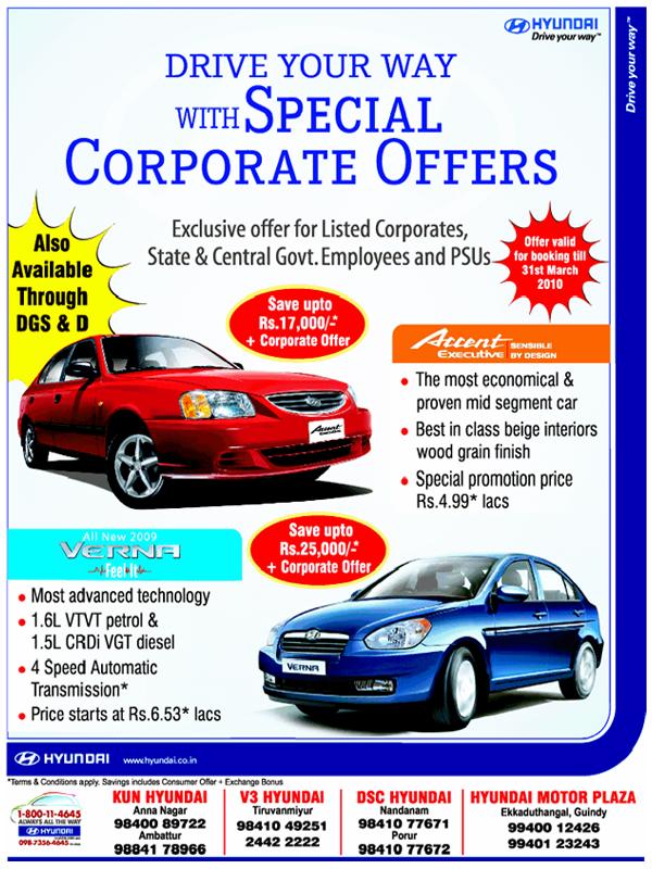 Hyundai offers India