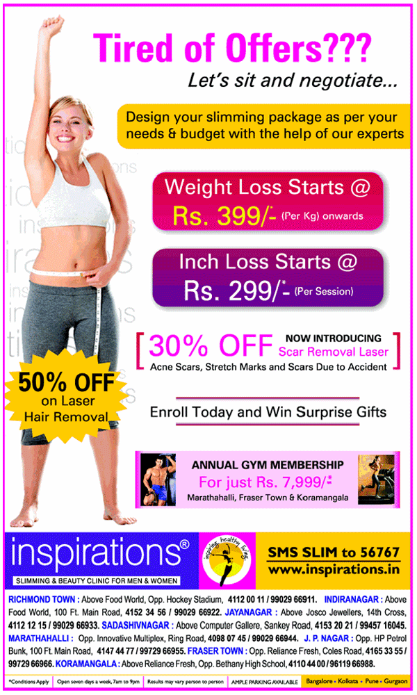 Inspirations offers India