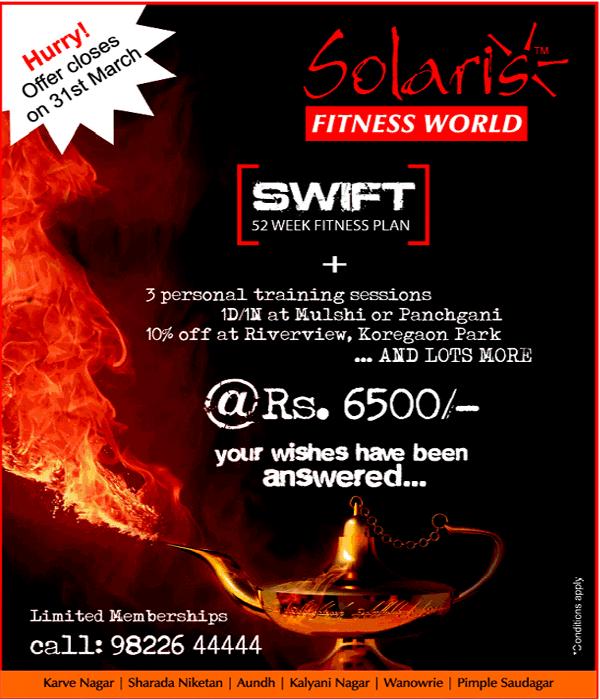 Solaris Fitness World offers India