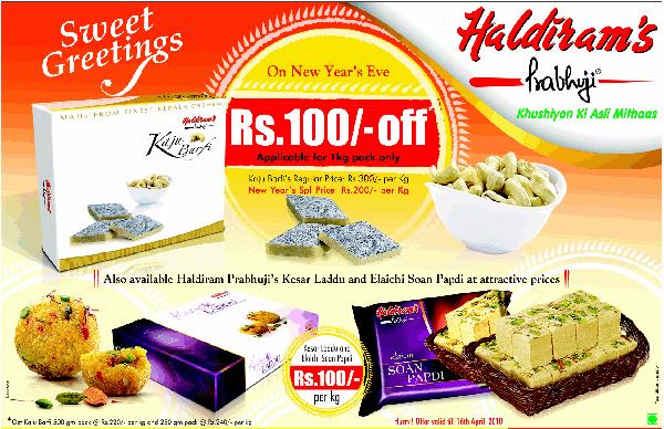 Haldirams Prabhuji offers India