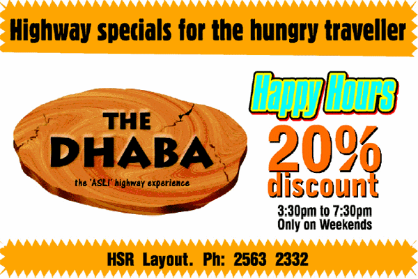 The Dhaba offers India