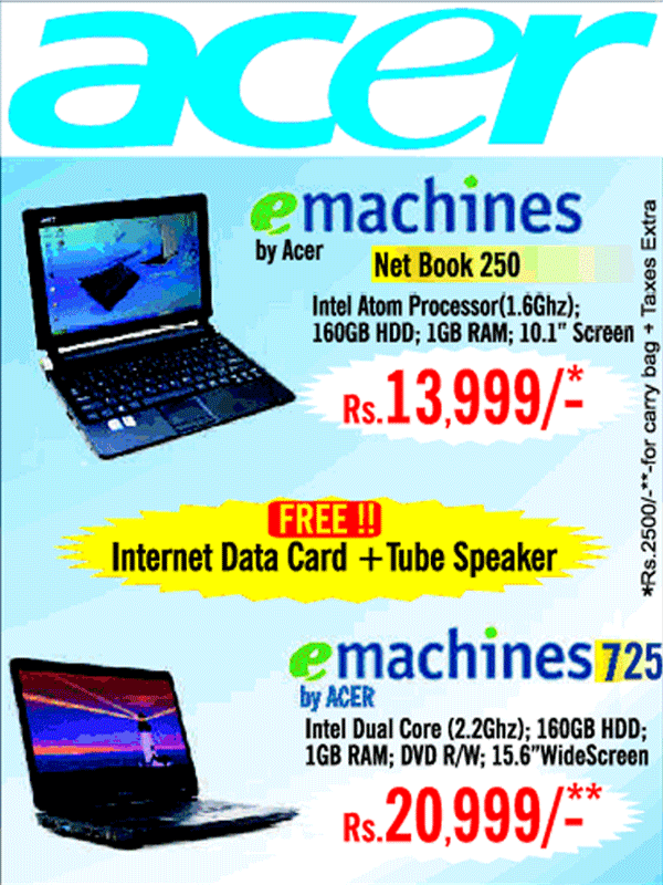 Acer offers India
