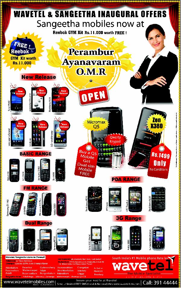 Wavetel offers India