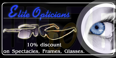 Elite Opticians offers India