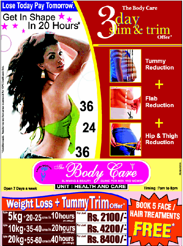 The Body Care offers India