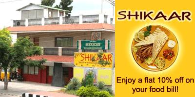 Shikaar Restaurant offers India
