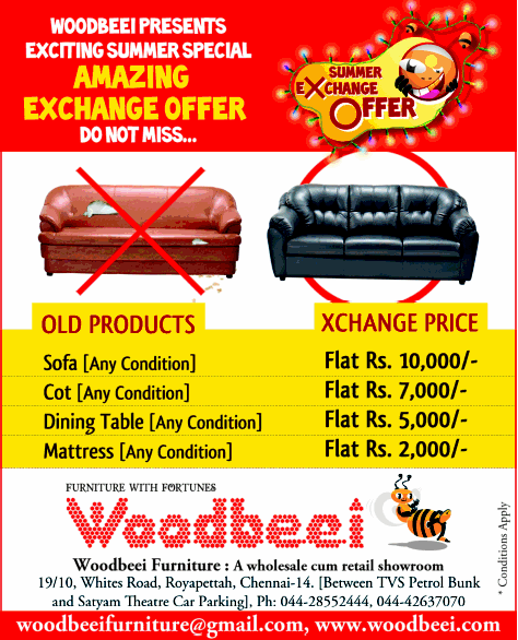 Woodbeei offers India