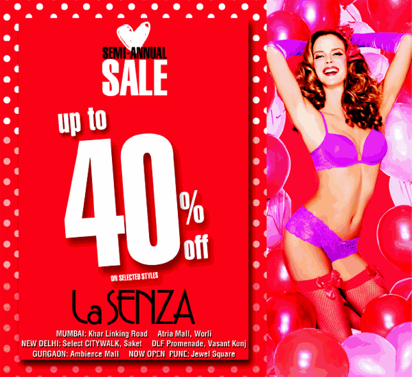LaSENZA offers India