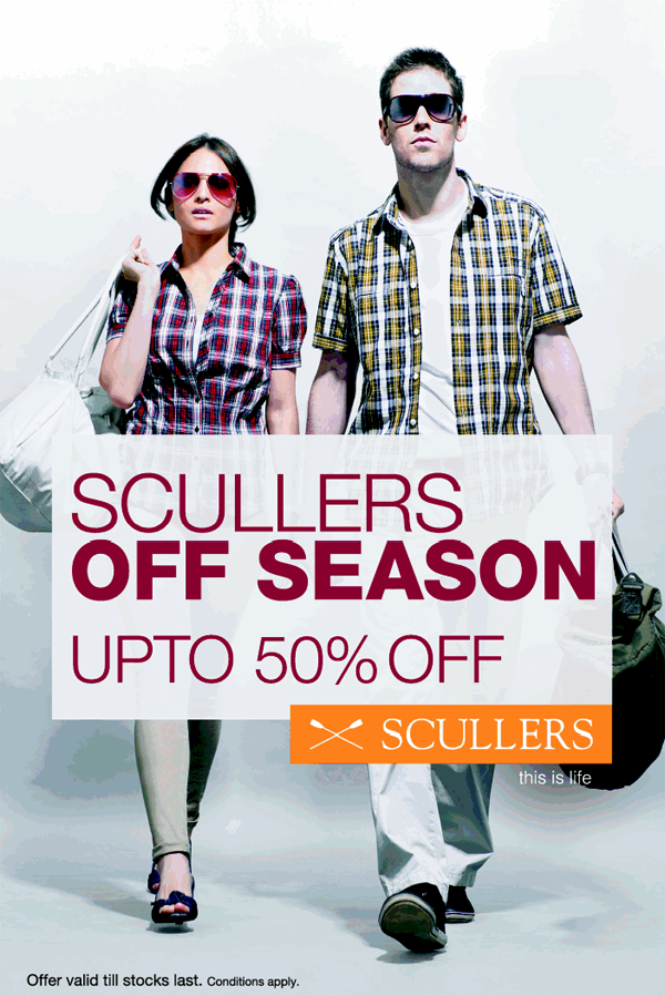 Scullers offers India