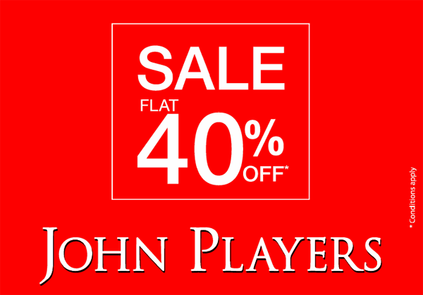 John Players offers India