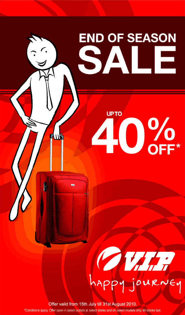 VIP Industries offers India