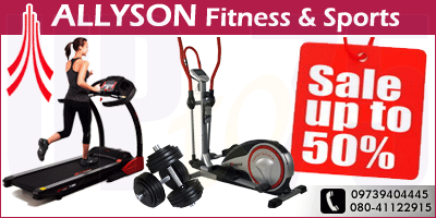 Allyson Fitness and Sports offers India