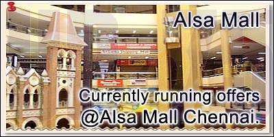 Alsa Mall - Chennai Sale Offers India