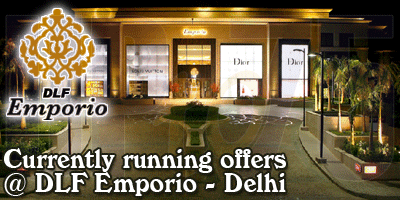 Emporio Mall - Delhi Sale Offers India