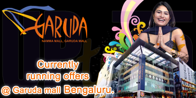 Garuda Mall - Bangalore Sale Offers India