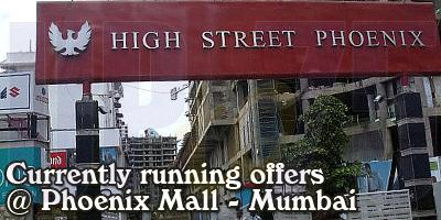 Highstreet Phoenix Mall Mumbai Sales