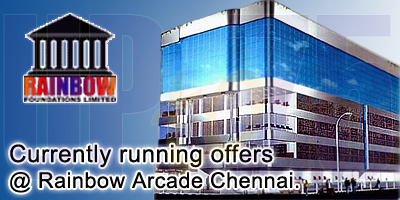 Rainbow Arcade - Chennai Sale Offers India