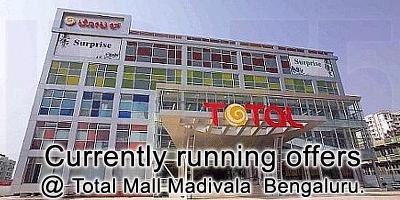 Total Mall - Madivala Bangalore Sale Offers India