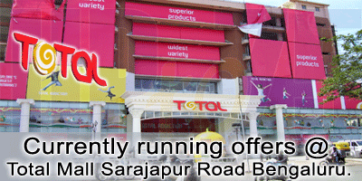 Total Mall -  Sarjapur Road Bangalore Sale Offers India
